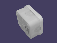 Junction box 70x70x40 - white 2