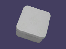 Junction box 70x70x40 - white 4