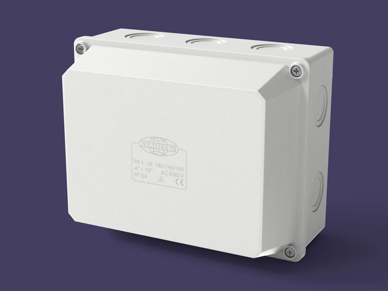 Junction box 180x140x100