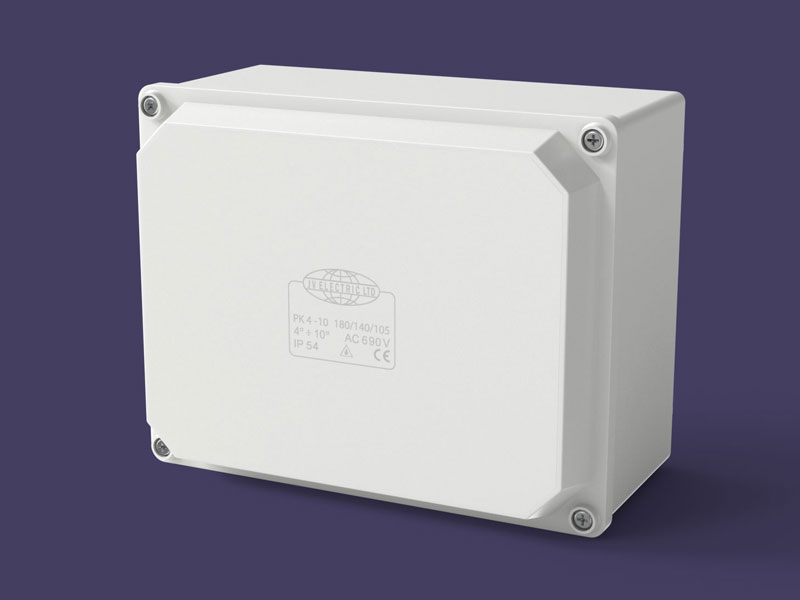Junction box 180x140x105