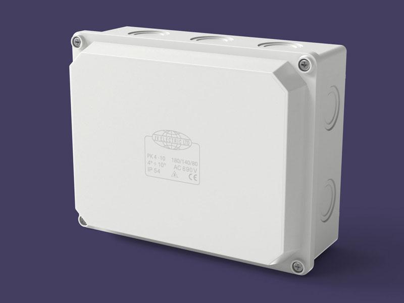 Junction box 180x140x80