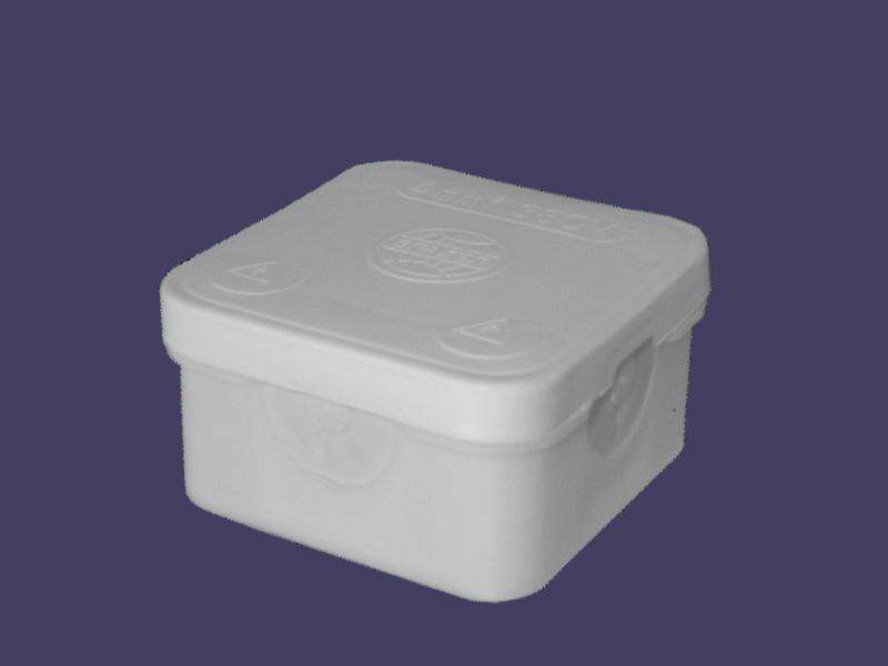 Junction box 70x70x40 – white