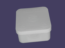 Разклонителна кутия 70x70x40 - бяла 3